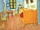 Vincent van Gogh The Bedroom at Arles painting